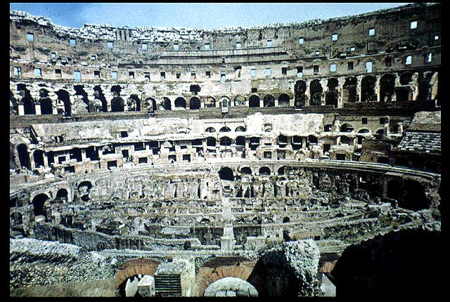 the colosseum rome information